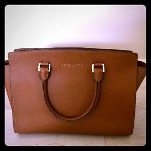 Michael Kors Carmel leather bag